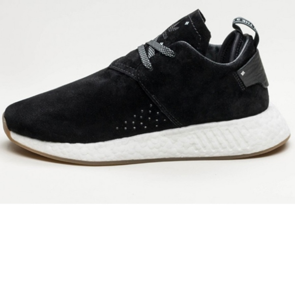 Adidas NMD C2 Black Suede Size US 6